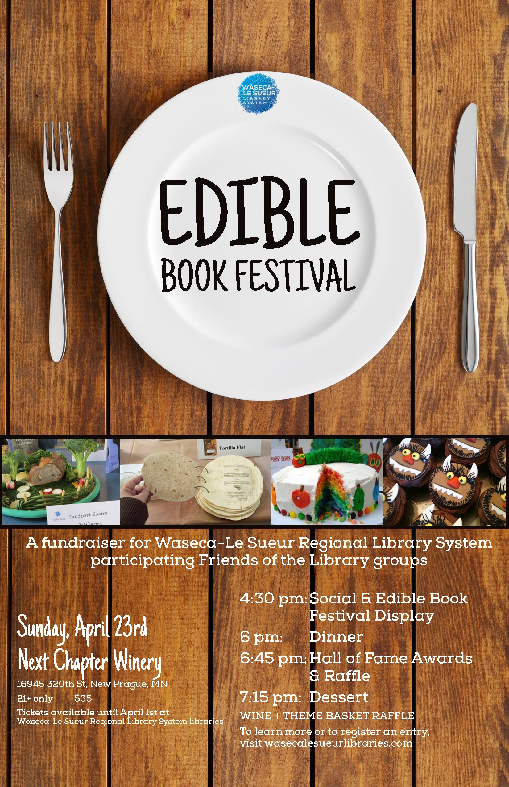 Attend The Edible Book Festival!