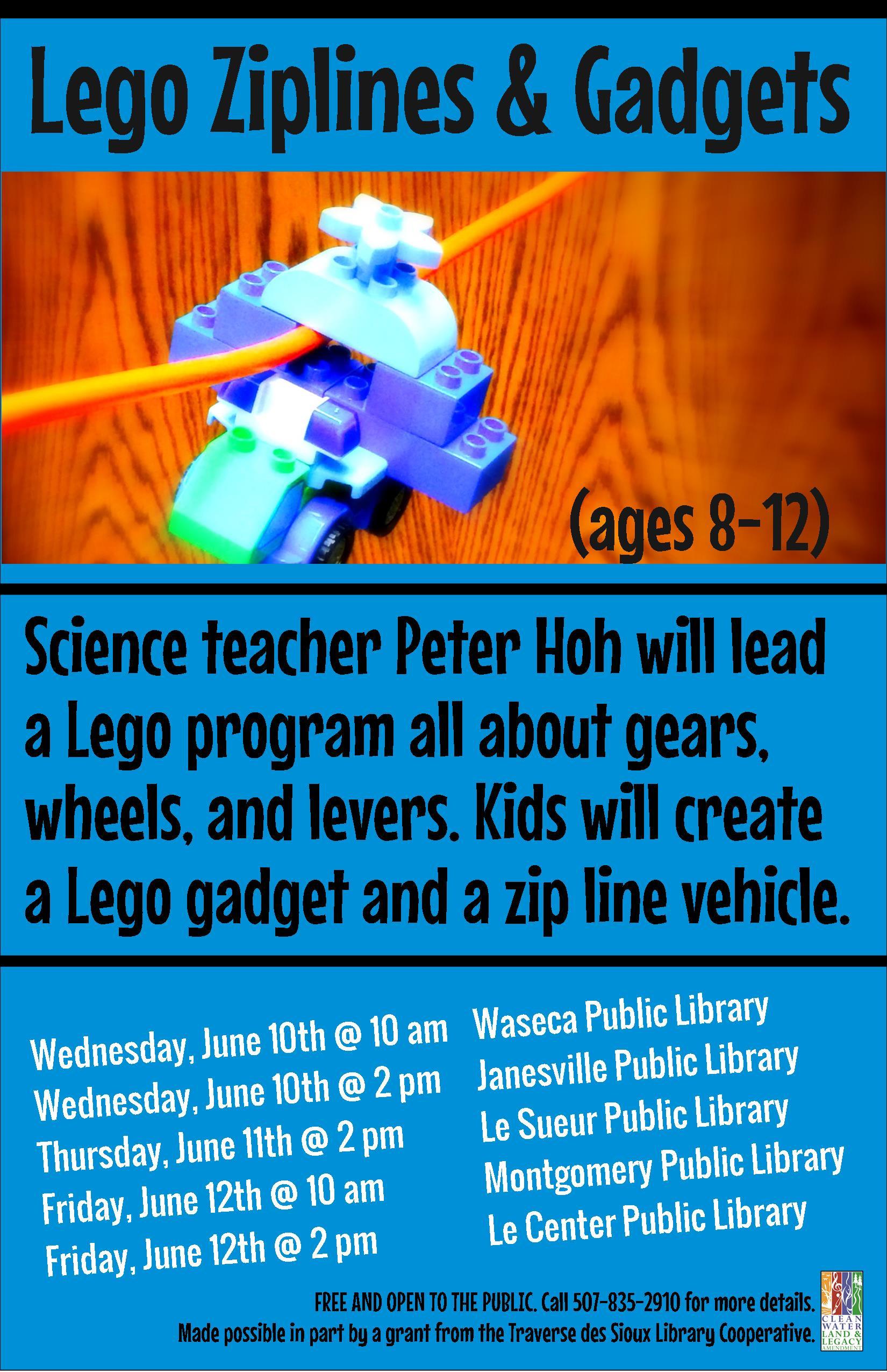 Lego Ziplines And Gadgets