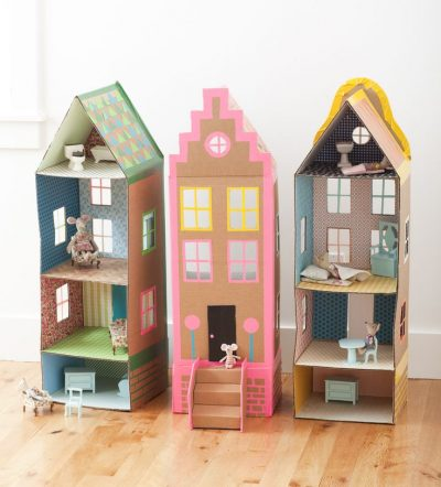Cardboard Dollhouses, Superhero Hideouts, And Evil Lairs